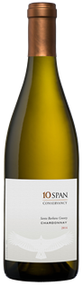 10 Span Vineyards Chardonnay Santa Barbara County 2013...